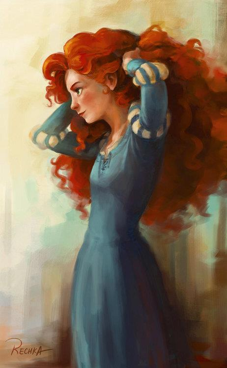 ladyykaryybaby:  Merida :) on We Heart It. http://weheartit.com/entry/61927048