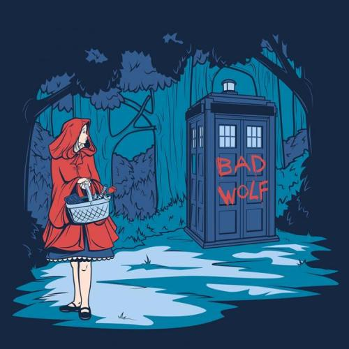 bakerandsladen:  (via 13 Fun and Impressive Pieces of Doctor Who Fan Art | Mental Floss)
