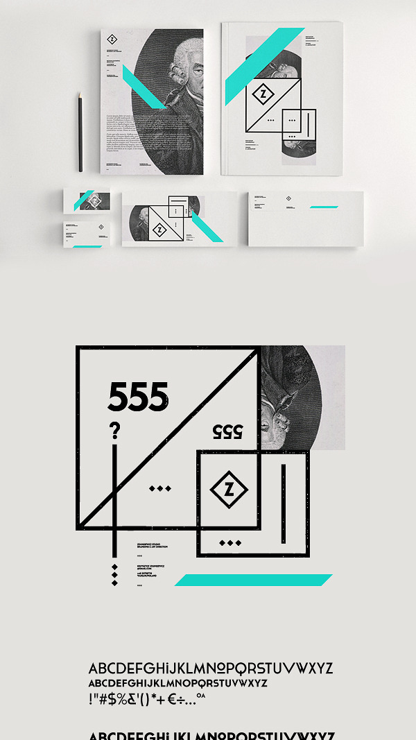 edeux:  (via Zdunkiewicz Studio / Self Promotion on Behance)
