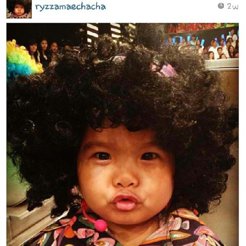 This definitely made my night! Sobrang tawa! Bwahaha! ROFL. Regram from @ryzzamaechacha