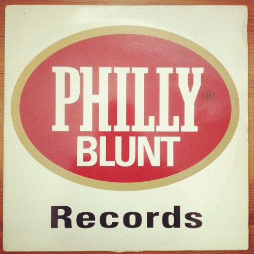 My favourite record label logo. All their 12s just like this. #phillyblunt #junglemusic