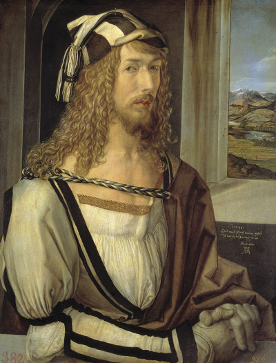 toinelikesart:  Albrecht Durer (1471-1528)Self Portrait at 26Oil on panel1498
