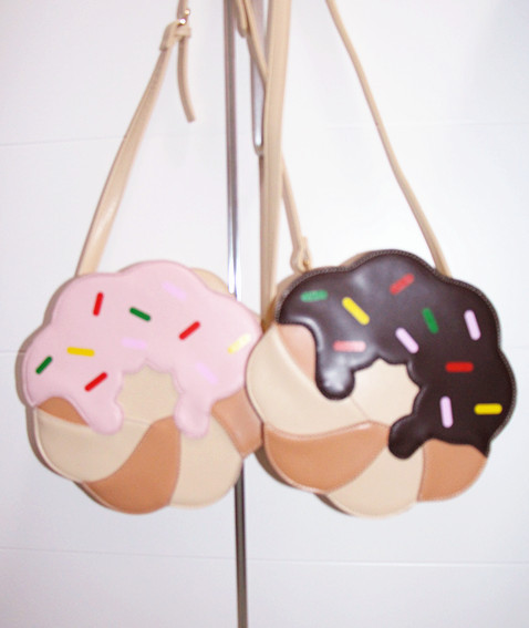 thunder-bunny:  Donut Purse $37