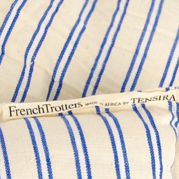 #FrenchTrotters #home #linen collection #madeinafrica by #Tensira // available in stores and on www.frenchtrotters.fr // #interior #homeware #craft #dyeing