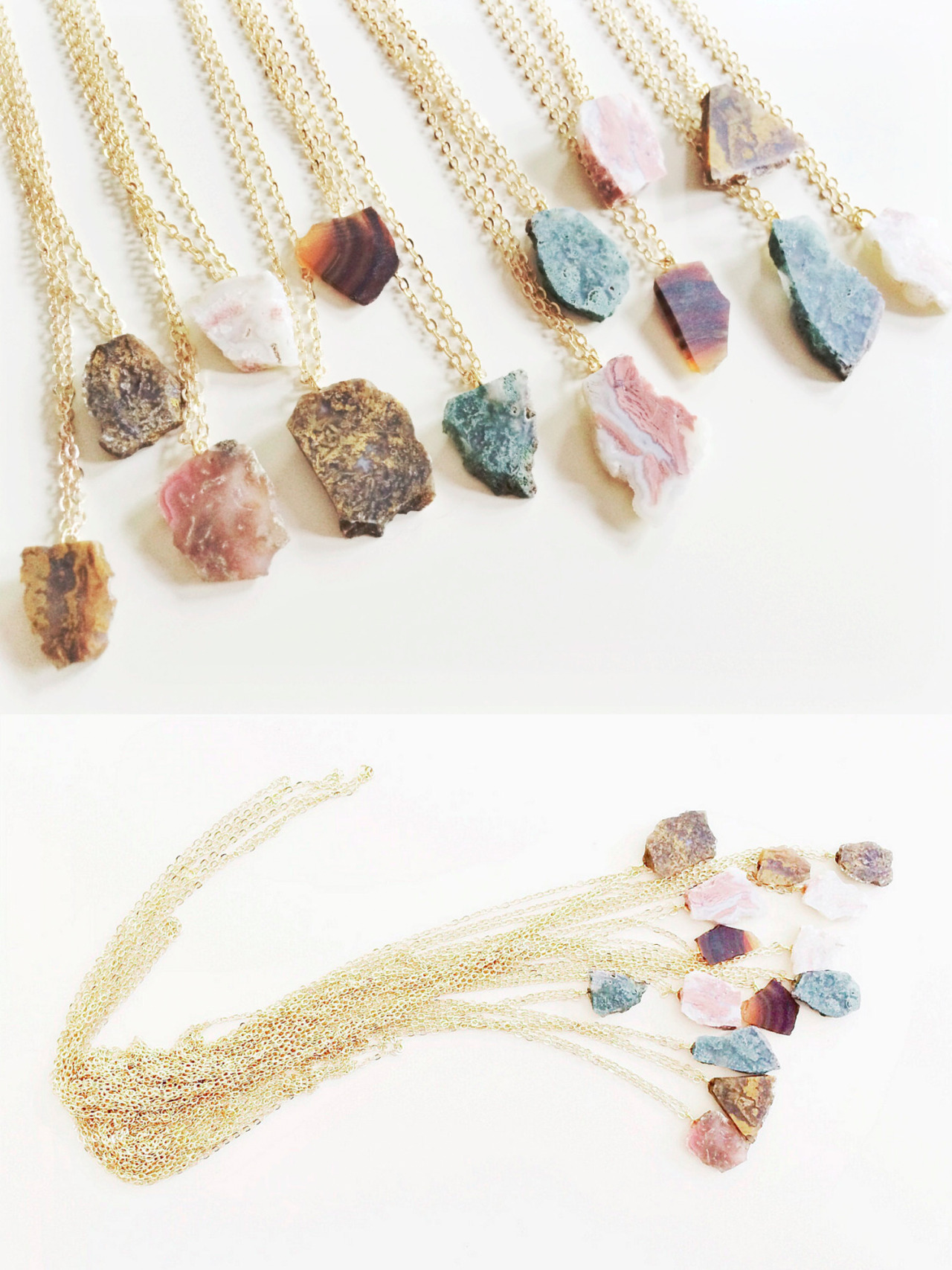 etsyfindoftheday:  etsyfindoftheday | EVENING EXTRAS 3 | 8.27.14 rough stone slab necklace by compositeshop  GAH. i want ALL of these rough stone slab necklaces … and the rest of compositeshop's rad jewelry offerings. be mine, all you lovely boho rockstars!