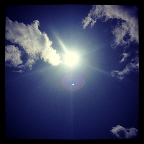 It's a sunny day :D #sun #sunny #sunnyday #sunlight #light #sunshine #shine #nature #sky #photooftheday #beautiful #beautifulday #weather #summer #goodweater #instasunny #instasun #instagood #clearskies #clearsky #blueskies #bright #nature #italy #easter