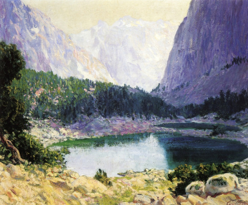 Twin Lakes, High Sierra by Guy Rose