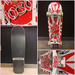 Deck of the Day | Hosoi Skates | Christian Hosoi   @christianhosoi #sk8face @vans