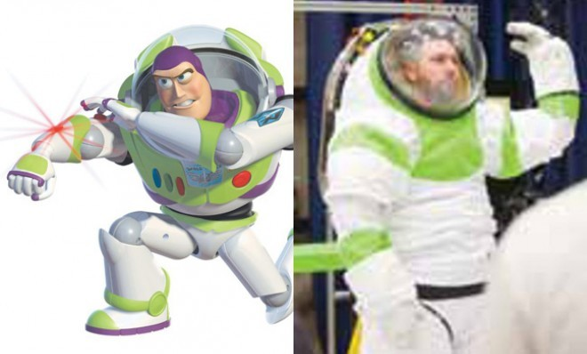 NASA's new spacesuit looks awfully familiar…