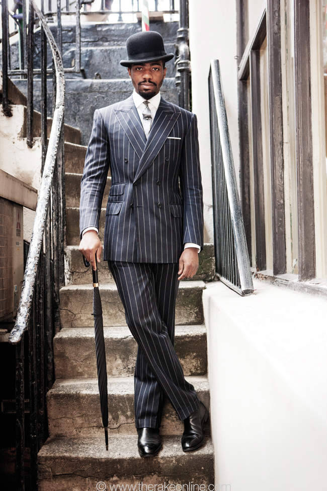 DandyTailor  Michael Brown of Cad & the Dandy & Chittleborough & Morgan, home of Tommy Nutter's heritage