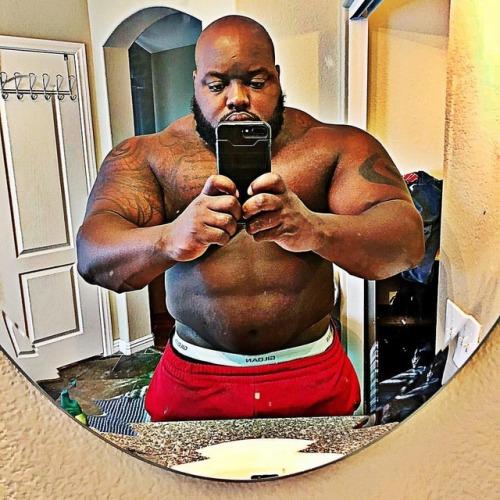 bulgingmass:  Abs at 340 pounds: David Douglas
