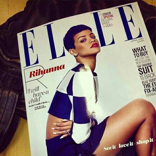 Elle UK cover