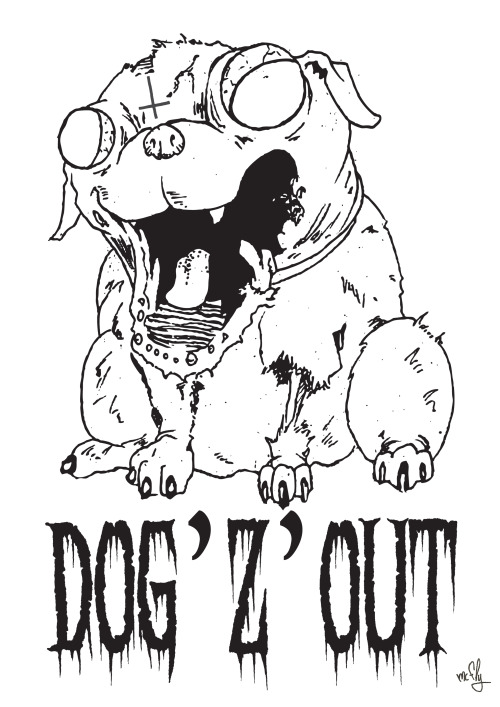mc fly / dog'z out - illustration 2013