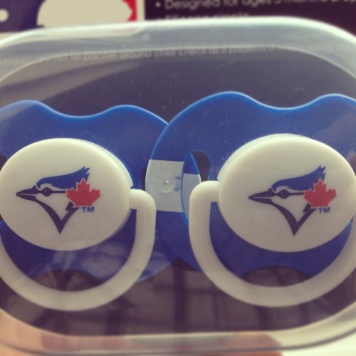 My kid isn't born yet but when he is, he'll be a #BlueJays fan.