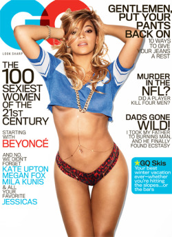 unexotic:  gq:  Beyoncé.   wow