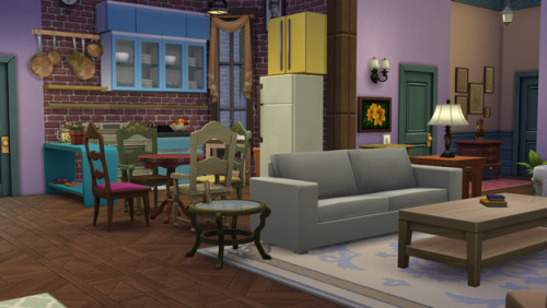 """buzzfeedgeeky:  Some Genius Has Recreated """"Friends"""" In The Sims 4"""