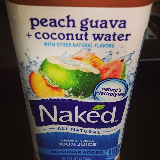 Good stuff. #naked #coconutwater