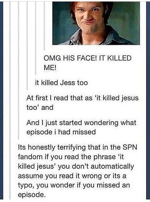 misswitsandsarcasm:  The Best of Supernatural Posts 15/?