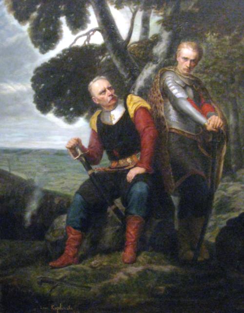 thewickedknight:  Sword-bearer and Wacław Leon Henryk Kapliński (Polish,1826-1873)