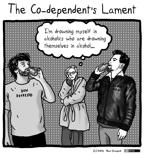 #510: The Co-dependent's Lament (And, like, WTF are they drinking out of?)