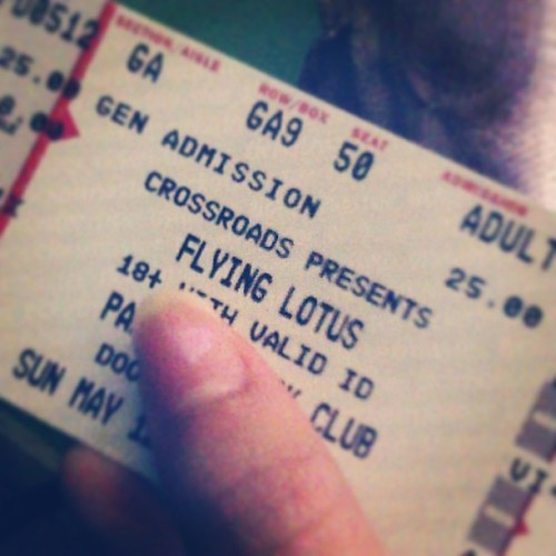 Wassup tonight?! #flyinglotus #flylo #music #concert #thebest #hiphop #riaservellon