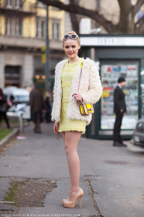 heelsloveanddrugs:  yellow—brick-road:  Kristina Bazan, 2013.