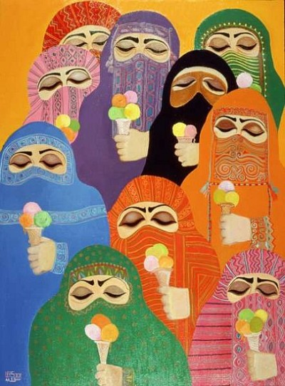 vsthepomegranate:  The Impossible Dream (1988) by Laila Shawa