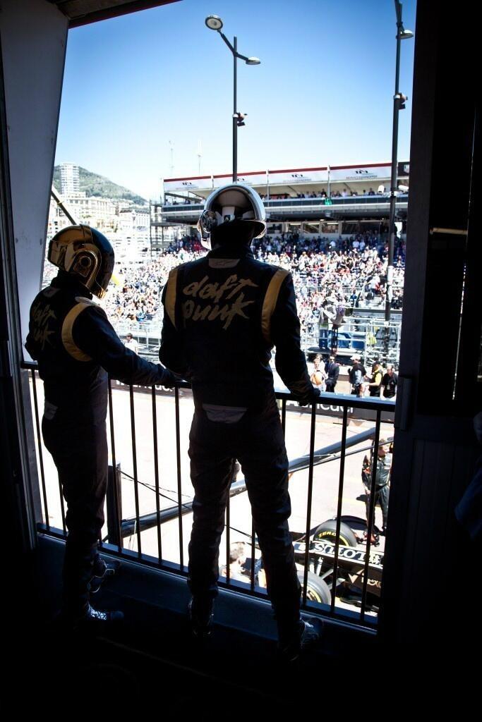 Daft Punk at the Monaco GP.