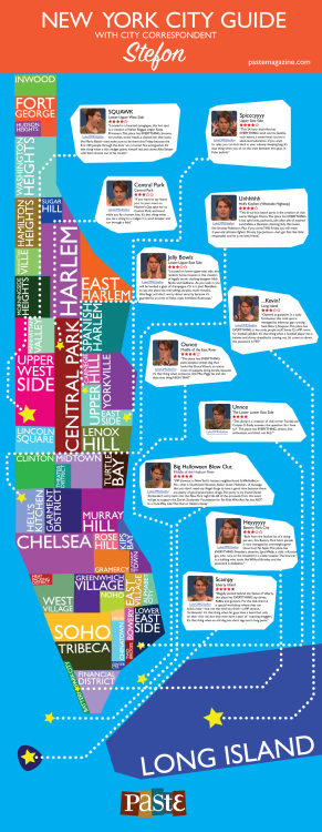 soupsoup:  Stefon's guide to New York (larger version here)
