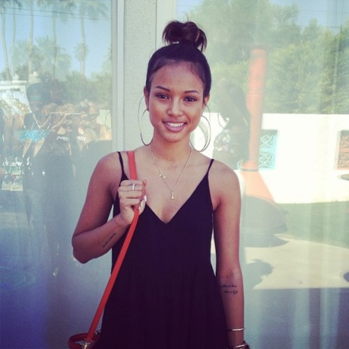 fashion style streetwear pool party karrueche dimepiece