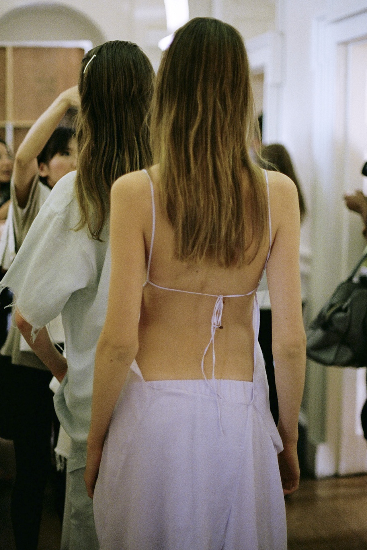 marquesalmeida:  Marques'Almeida SS13 Backstage Pictures by Sophia Aerts https://www.facebook.com/pages/Marques-Almeida/215041328567825?fref=ts
