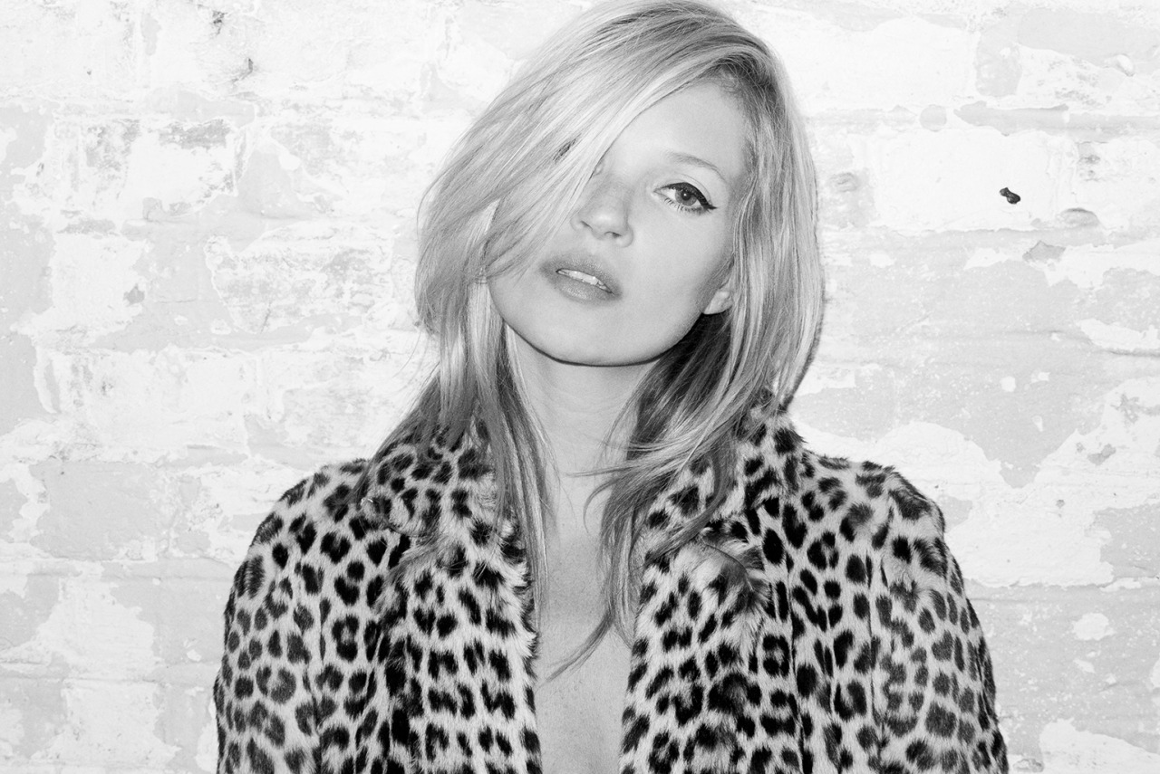 terrysdiary:  Kate Moss at my studio #4