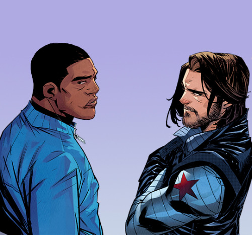 marvelcomicsdaily:  falcon and winter soldier (2020) #the falcon and the winter soldier #sam wilson#bucky barnes#marvel comics