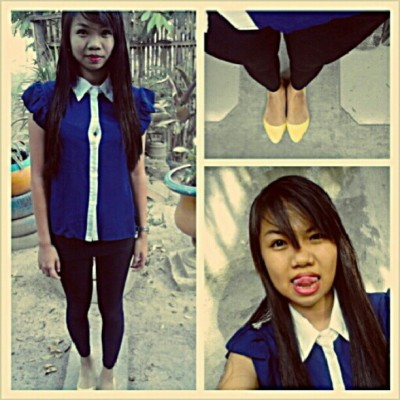 Off to school. #ootd