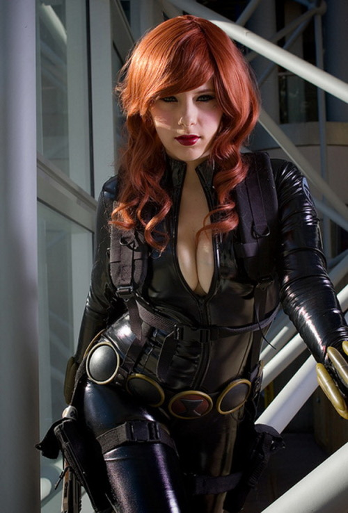 cosplay-paradise:  Black Widow Cosplayhttp://cosplay-paradise.tumblr.com