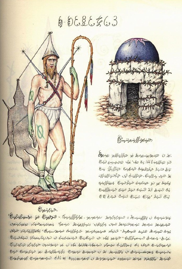 arsvivendi:  nolan-kane:  Codex Seraphinianus, 1976-1978 'The Codex Seraphinianus is a book written and illustrated by Italian artist, architect and industrial designer Luigi Serafini, from 1976 to 1978. The book appears to be a visual encyclopedia of an unknown world, written in one of its languages, an alphabetic writing intended to be meaningless.' wikipedia / source