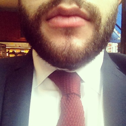 Boom #tie #fashion #suit #knitwear #beard #work #tweark #yesthatrhymes