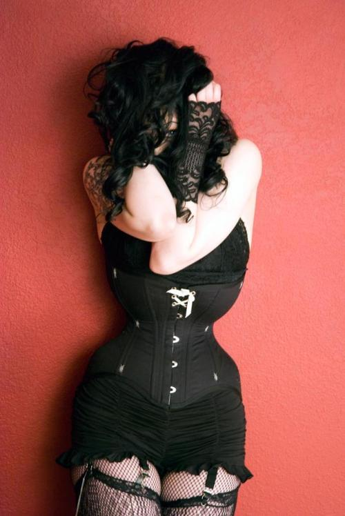 In Defense of Ready to Wear Corsets, via The Lingerie Addict  (Photo of Elisa Berlin by Jon Bean Hastings. Pop Antique Corset.)