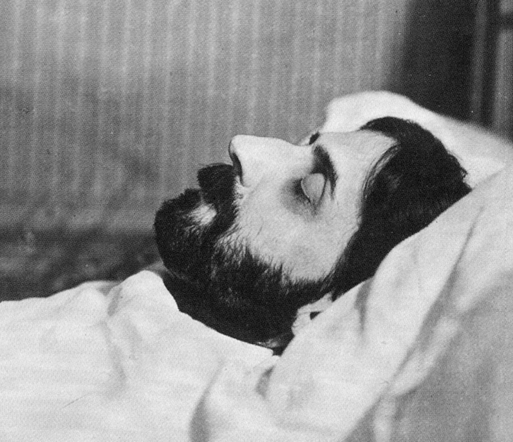 Marcel Proust in his deathbed [18-11-1922].