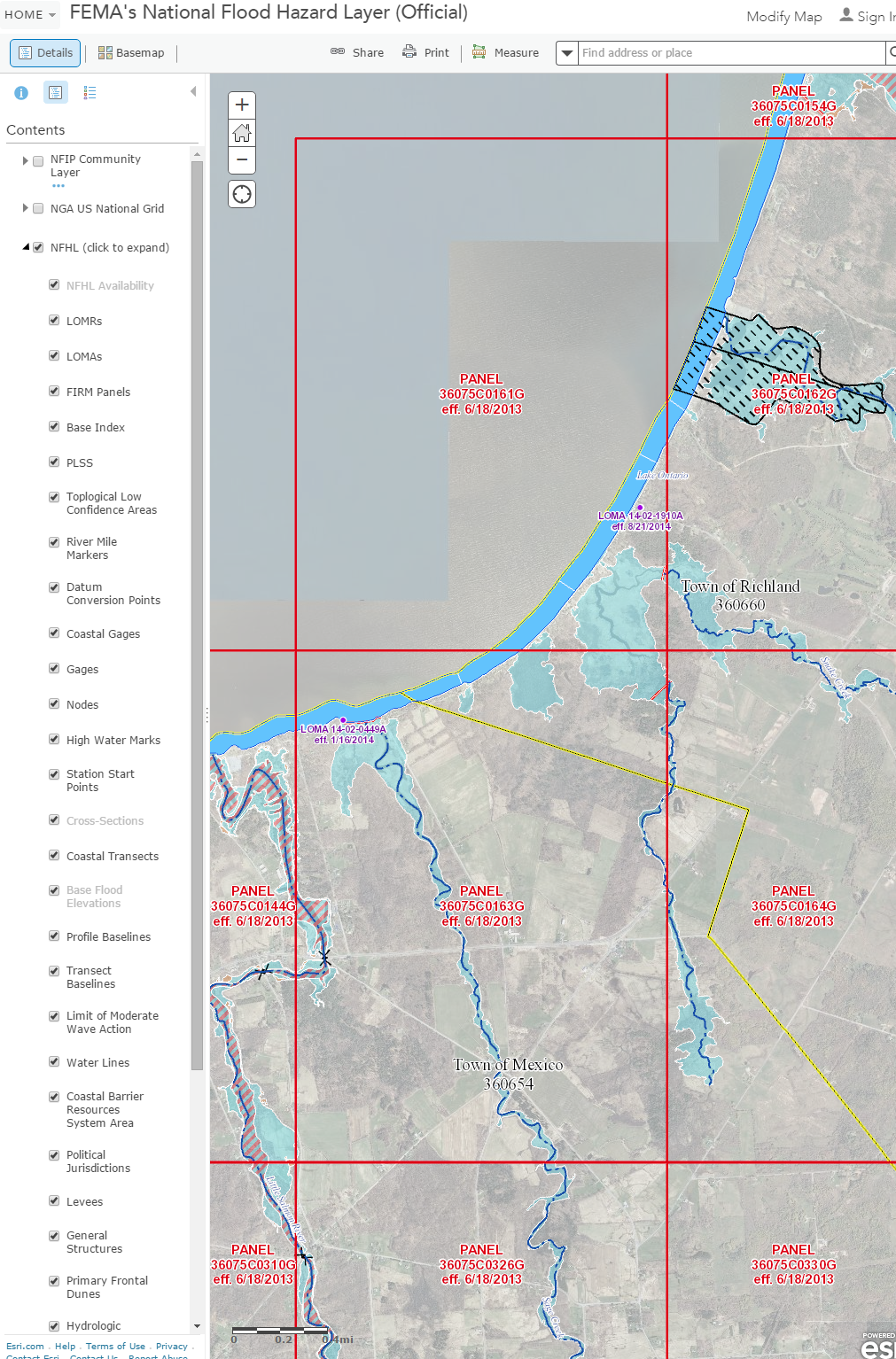 GIS Mapping Tidbits FEMA Has Updated Some Of Its Flood Hazard GIS - Firmette map