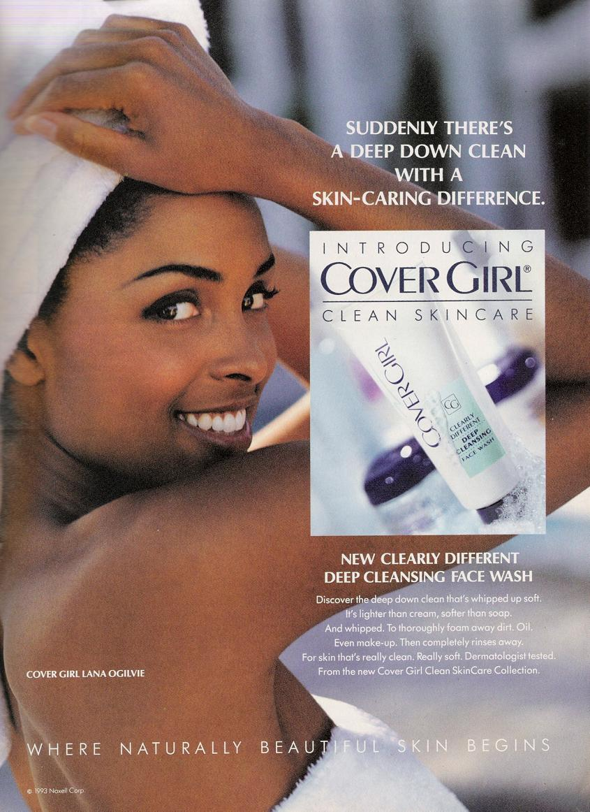 80s-90s-supermodels:  Cover Girl 1993Model : Lana Ogilvie  i just LOVE covergirl!