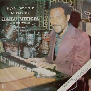 This fairly unknown Ethiojazz release by Hailu Mergia and The Walias in 1977 features the legend Mulatu Astatke on one of the tracks. With some analog synth, some accordion, electric piano, this is a must download.