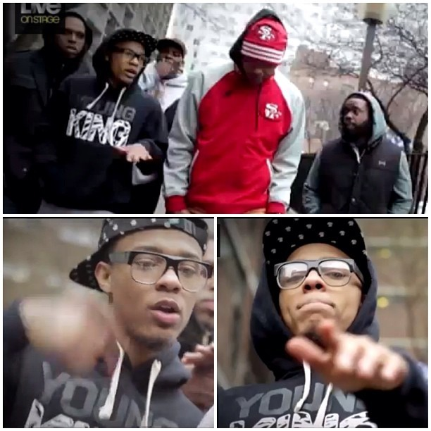 S/O to @officialbowwow  rocking our #YoungKing hoodie in his lastest video. @87bowwow #Bowwow #lilbowwow #chadmoss #ymcmb #king #kingsruletogether #KRT www.kingsruletogether.com