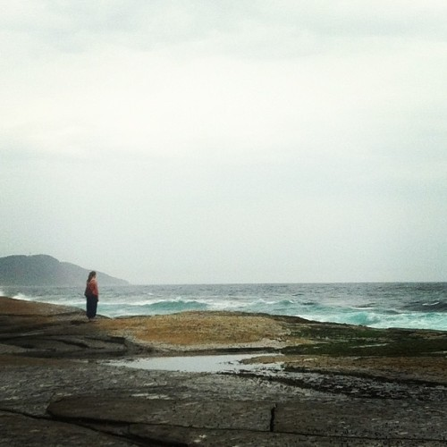 Sneaky pic of @becface from the weekend in terrigal. #ocean #sea #waves #igdaily #igsydney