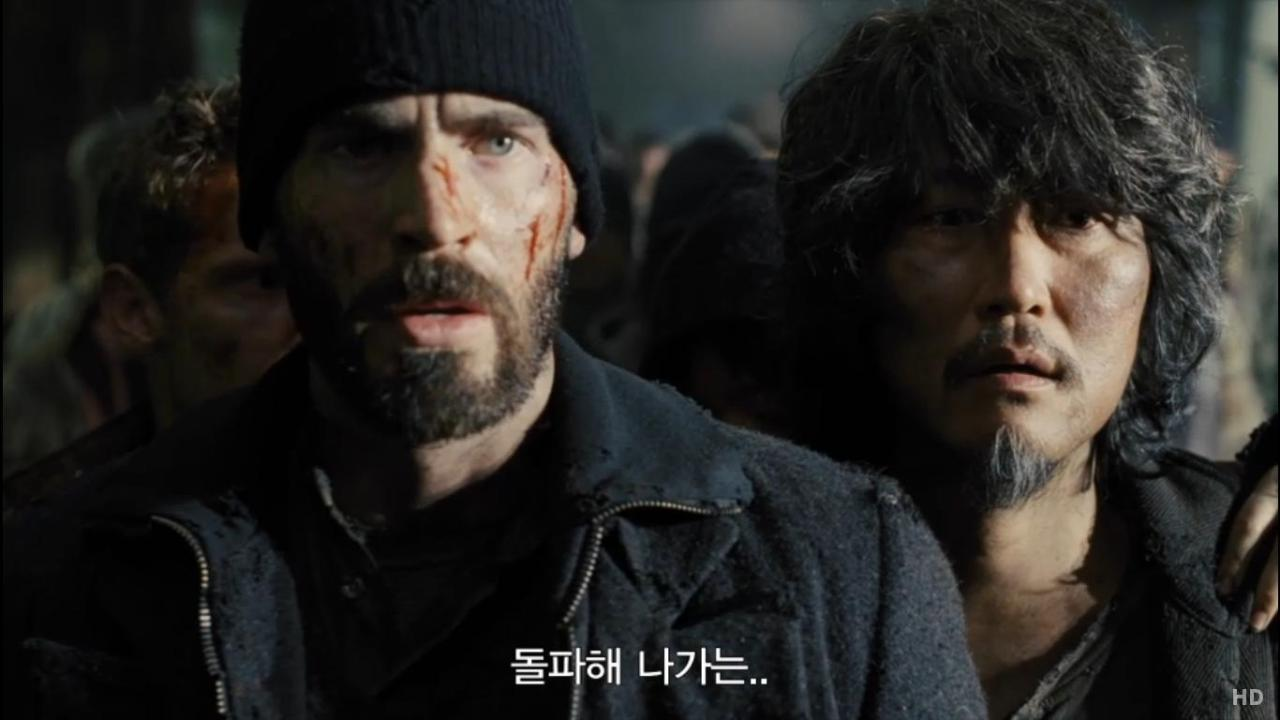 Snowpiercer teaser trailer http://movie.naver.com/movie/bi/mi/mediaView.nhn?code=62328&mid=20502#tab http://www.youtube.com/watch?v=veaz5Tn39gA
