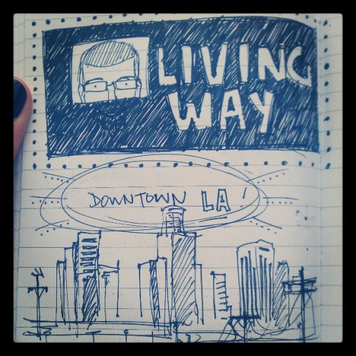 #dtla #doodle #art #livingway #church (at Living Way)