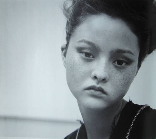 "crystallizations:  ""La Grand Nuit"": Devon Aoki photographed by Nick Haymes for Nylon, 2000"