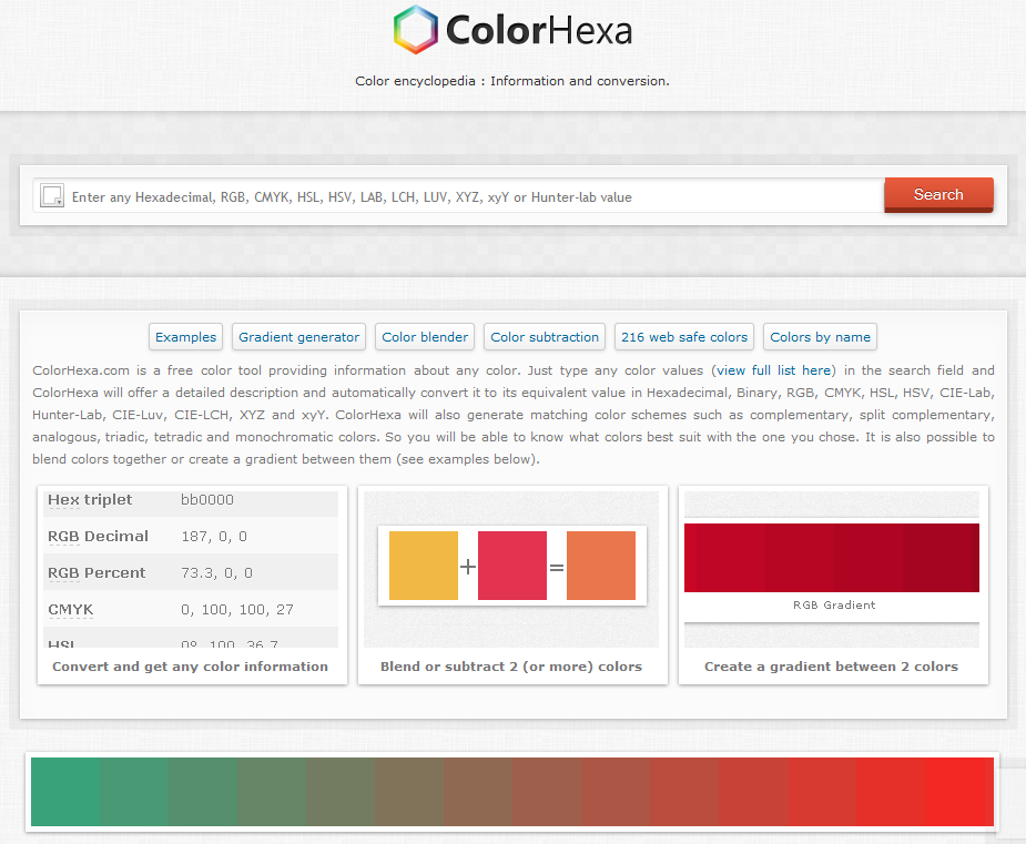 color-palettes: