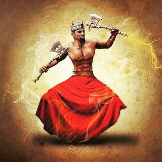 "By @botanica_ile_iwa_oruna ""Today within the Lukumi tradition we celebrate Chango's feast day! Chango is a warrior Òrìshá, fourth Alafin (king) of Oyo and is considered the king of both Lukumi and Traditional Yoruba faiths. Chango represents..."