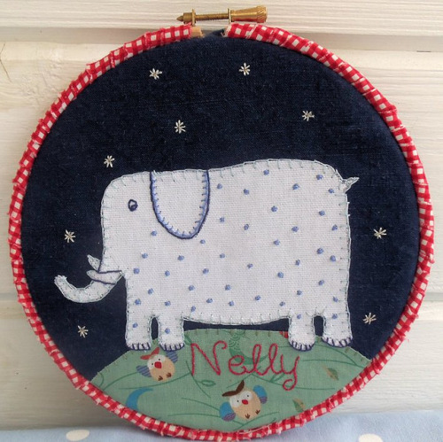 Nelly in the Sky with Diamonds by Bustle & Sew on Flickr.